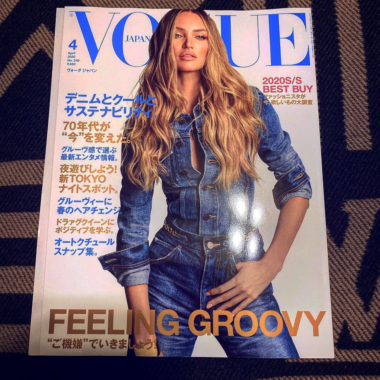 2020.02.28 KUJIRAがファッション誌「VOGUE」に掲載!!